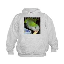Peter the Quaker Parrot Hoodie
