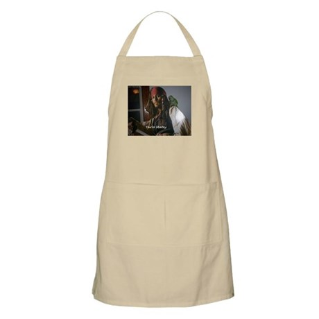 Peter the Quaker Parrot Yarr BBQ Apron