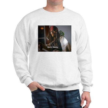 Peter the Quaker Parrot Yarr Sweatshirt