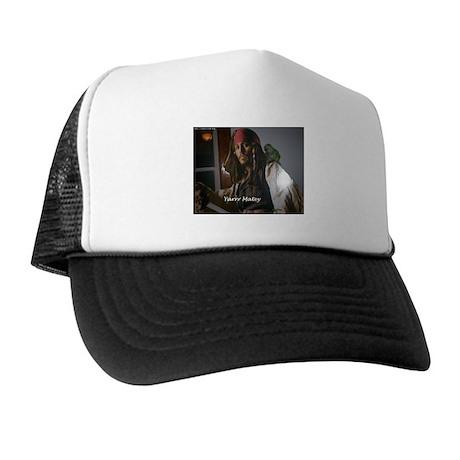 Peter the Quaker Parrot Yarr Trucker Hat