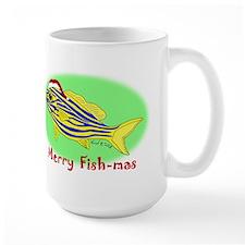 Merry Fishmas Mug