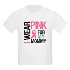 I Wear Pink (Mommy) T-Shirt