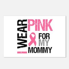 I Wear Pink (Mommy) Postcards (Package of 8)