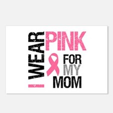 I Wear Pink (Mom) Postcards (Package of 8)
