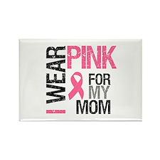 I Wear Pink (Mom) Rectangle Magnet