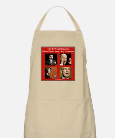 """Nobody's Paying Attention"" BBQ Apron"