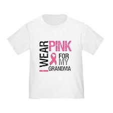 I Wear Pink (Grandma) T