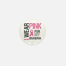 I Wear Pink (Grandma) Mini Button (10 pack)