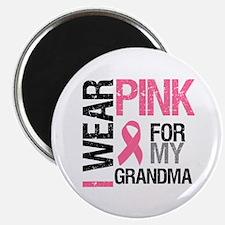 "I Wear Pink (Grandma) 2.25"" Magnet (10 pack)"