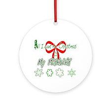 Christmas Flyaway Ornament (Round)