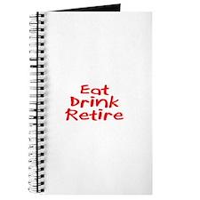Eat, Drink, Retire Journal