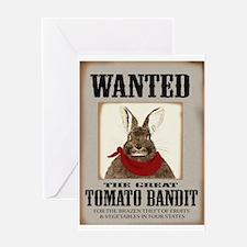 Tomato Bandit Greeting Card