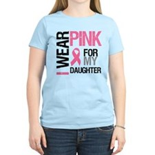 I Wear Pink Daughter T-Shirt