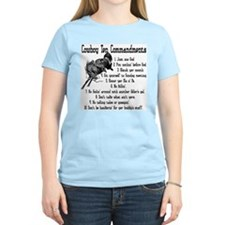 Cowboy Ten Commandments T-Shirt