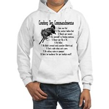 Cowboy Ten Commandments Hoodie Sweatshirt