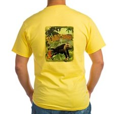 Costa Rica inspired Monkey Jungle Party TEE T