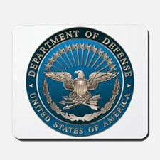 D.O.D. Mousepad: Government Emblem