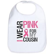 I Wear Pink (Cousin) Bib