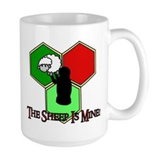 The Sheep Is Mine Catan Mug