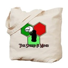 The Sheep Is Mine Catan Tote Bag