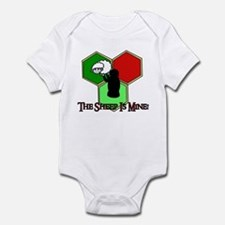 The Sheep Is Mine Catan Infant Bodysuit