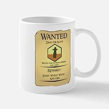 Catan Wanted Poster Mug