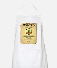 Catan Wanted Poster BBQ Apron