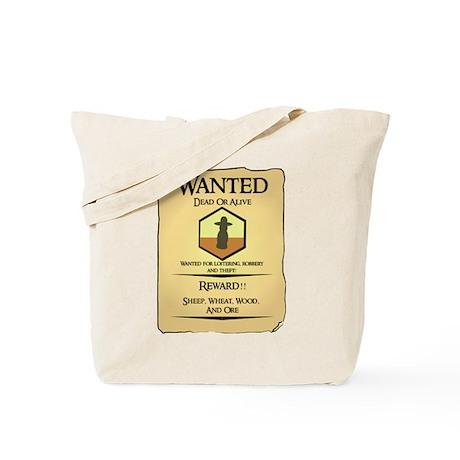 Catan Wanted Poster Tote Bag