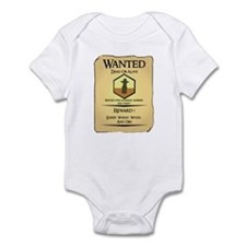 Catan Wanted Poster Infant Bodysuit