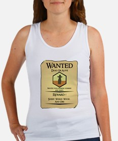 Catan Wanted Poster Women's Tank Top