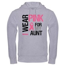 I Wear Pink (Aunt) Jumper Hoody