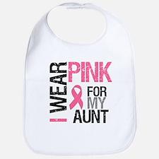 I Wear Pink (Aunt) Bib