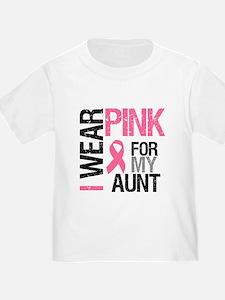 I Wear Pink (Aunt) T