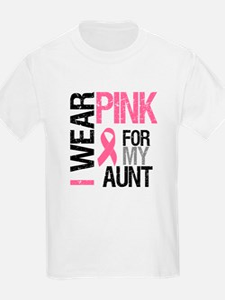I Wear Pink (Aunt) T-Shirt