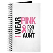 I Wear Pink (Aunt) Journal
