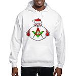 Masonic Jolly old St. Nick Hooded Sweatshirt