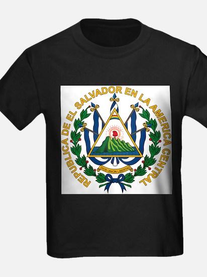 El Salvador Coat of Arms Ash Grey T-Shirt