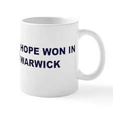 Hope Won in WARWICK Mug