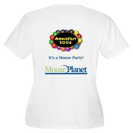 MousePlanet at MouseFest Women's Plus Size T-Shirt
