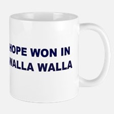 Hope Won in WALLA WALLA Mug