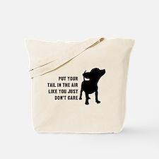 Put Tail in Air Tote Bag