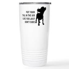 Put Tail in Air Travel Mug