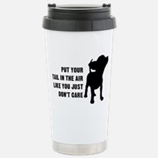 Put Tail in Air Travel Mug