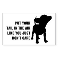 Put Tail in Air Decal
