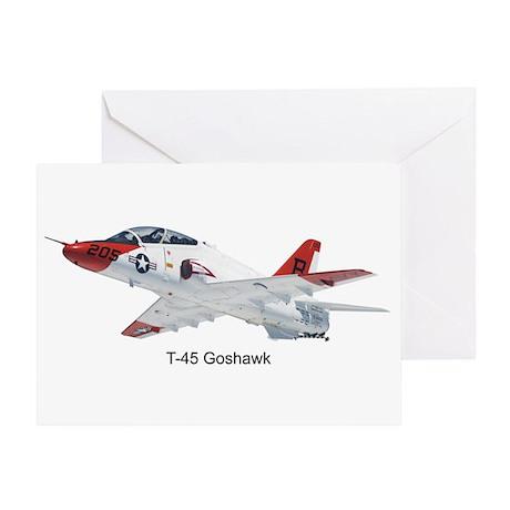 T-45 Goshawk Trainer Greeting Card