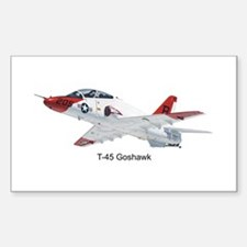 T-45 Goshawk Trainer Rectangle Decal