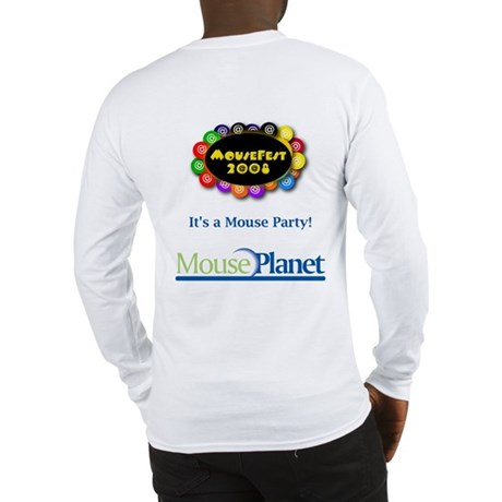 MousePlanet at MouseFest Long Sleeve T-Shirt