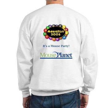 MousePlanet at MouseFest Sweatshirt