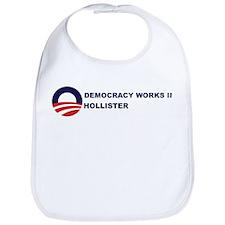 Democracy Works in HOLLISTER Bib