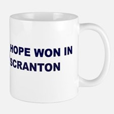 Hope Won in SCRANTON Mug